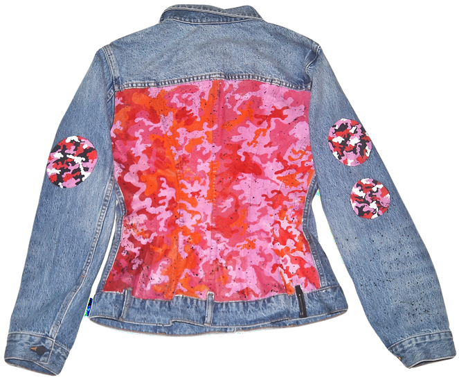 Warhol-Inspired Alexander Wang Fitted Denim Jacket