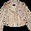 Thumbnail: Pollack-Inspired Metallic Splatter Color Blocking Luxury Leather Jacket