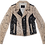 Thumbnail: Pollack-Inspired Splatter Leather Motorcycle Jacket