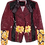 Thumbnail: Warhol-Inspired Yellow Floral Light Weight Motorcycle Jacket