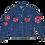 Thumbnail: Warhol-inspired Pink Camo Vintage Denim Jacket