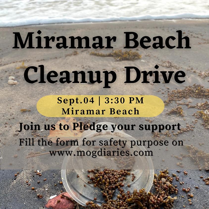 Miramar beach clean drive 4th Sept 2020