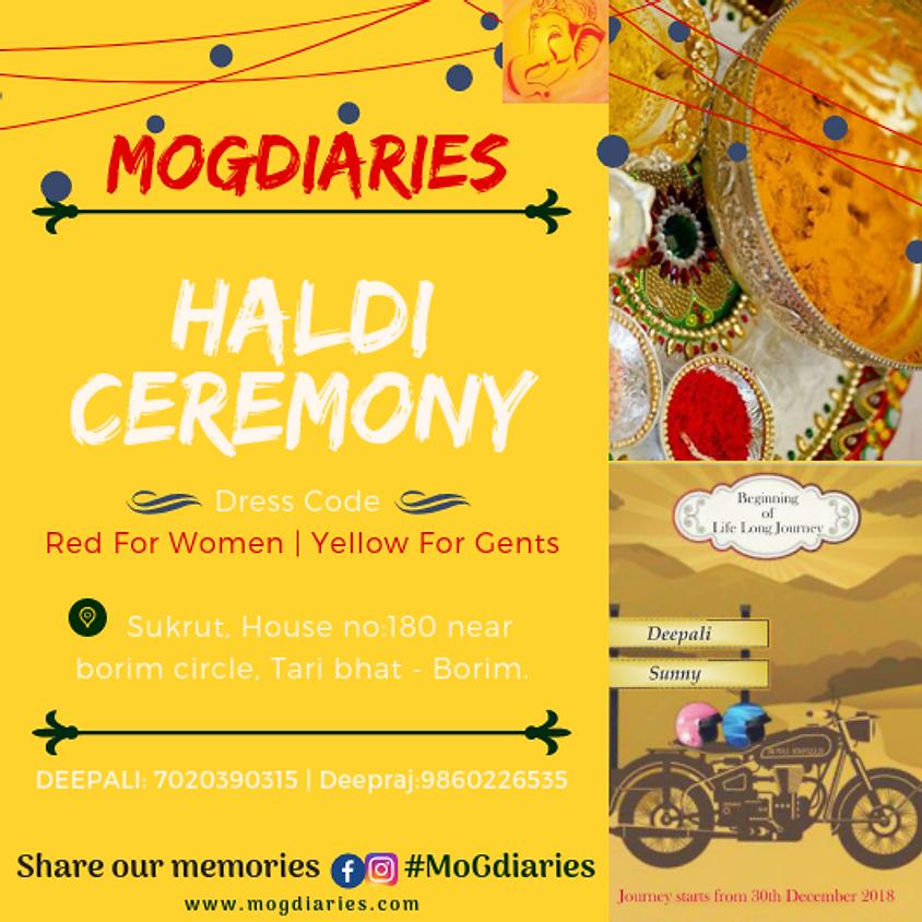 Deepali's Haldi Ceremony
