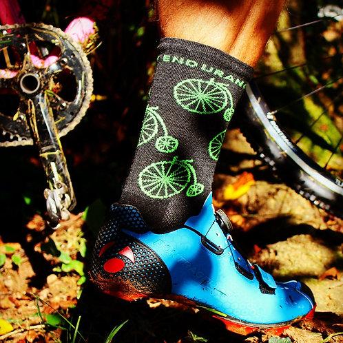 Wool High Wheel Socks
