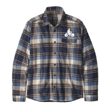 Patagonia Men's Long-Sleeved Lightweight Fjord Flannel Shirt (BSNN)