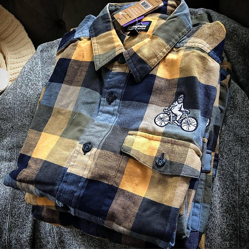 Patagonia Men's Long-Sleeved Lightweight Fjord Flannel Shirt (UNNY)