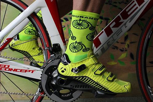 Neon High Wheel Socks