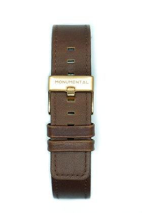 Chestnut Brown Leather Strap
