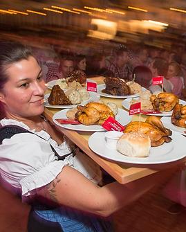 Feine Händl und Haxn am Oktoberfest