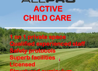 "ALL PRO CHILD CARE ""Licensed"""