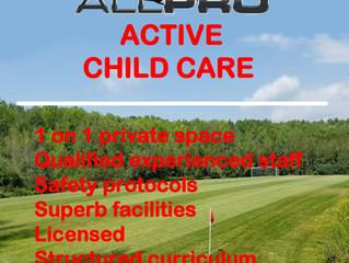 "ALL PRO CHILD CARE ""Licensed"""