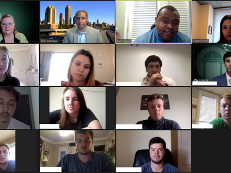 Speaking with Students about Salesforce: Georgia College - Sales Management Course
