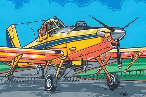Air Tractor 402B Painting (ORIGINAL)