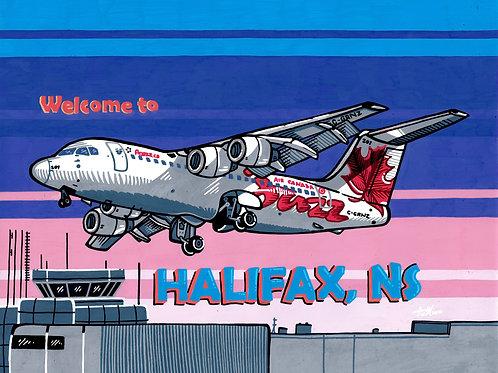 """Welcome to Halifax"" Postcard (Print)"