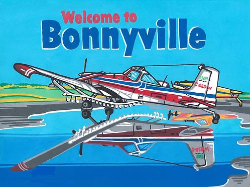 """Welcome to Bonnyville"" Postcard (Print)"