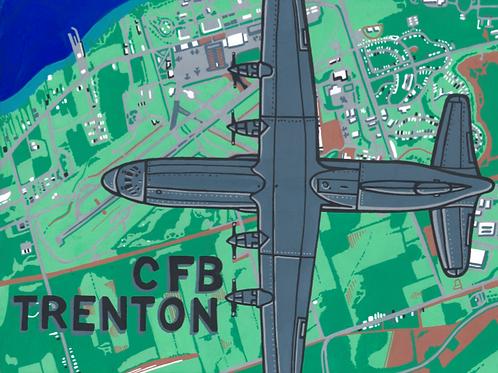 """CFB Trenton"" Postcard (Print)"