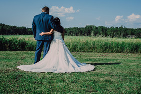 PHOTO DE COUPLE EXTÉRIEUR MARIAGE