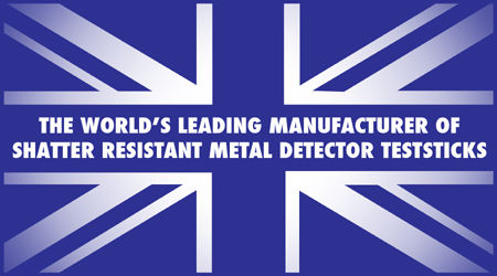 Shatter Resistant Metal Detector Test Pieces