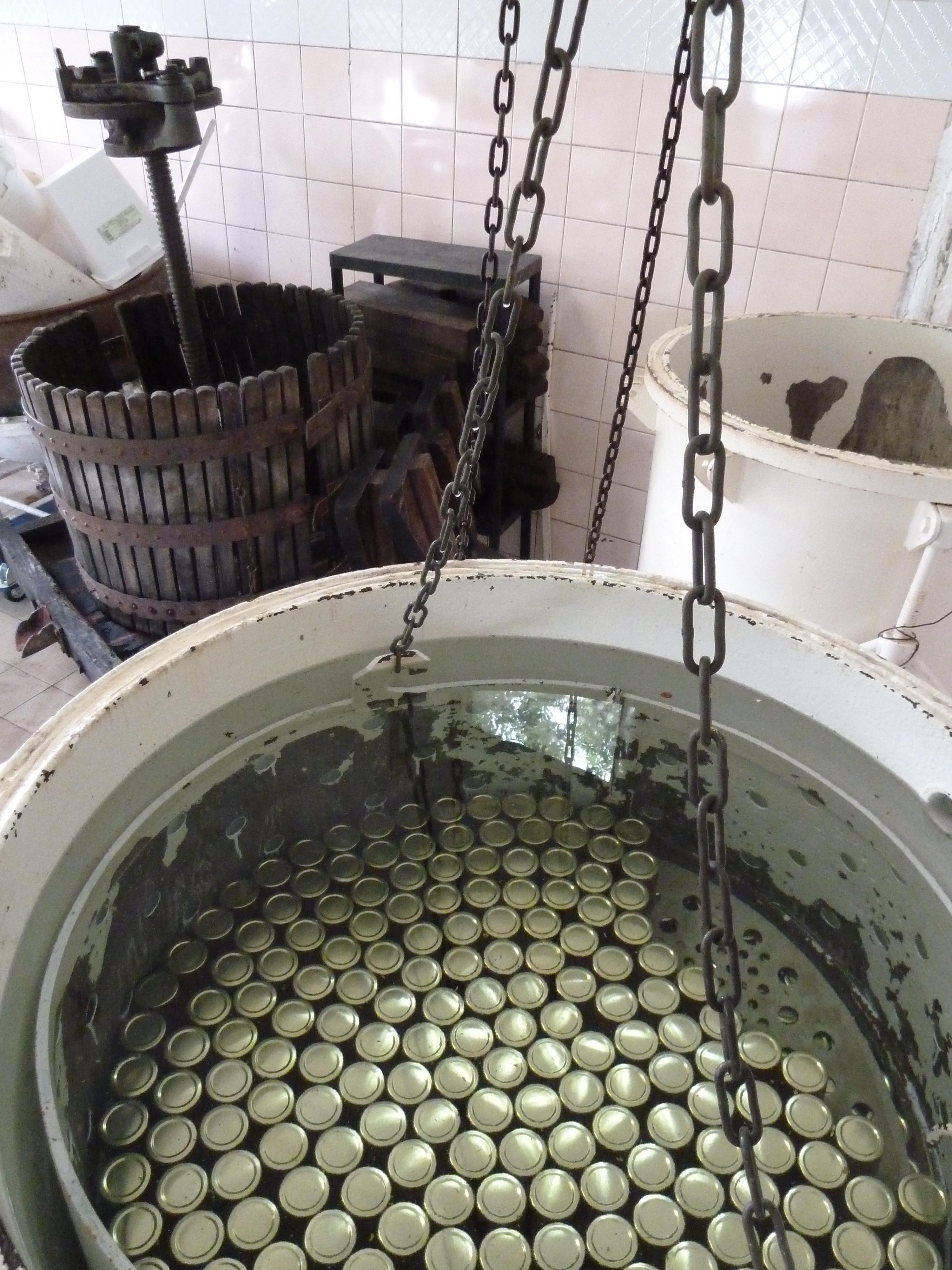 Pasteurisation des coulis