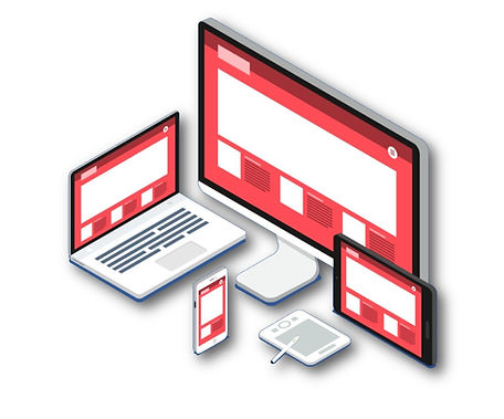 responsive web design adapted for mobile devices