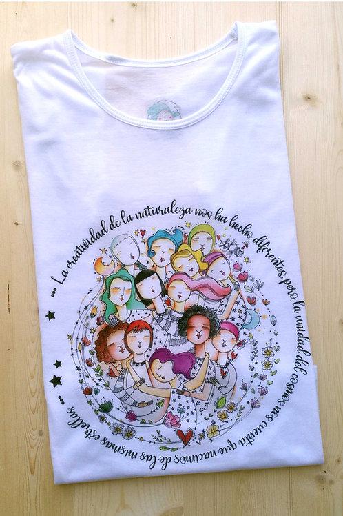 Camiseta Mujeres Diversas