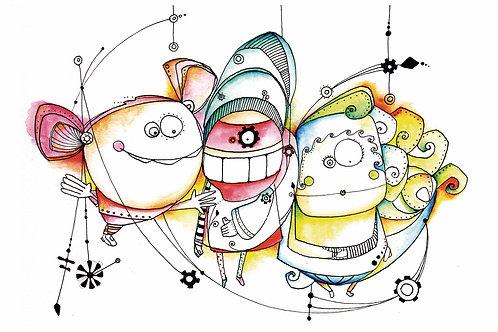 ILUSTRACION Las Marionetas
