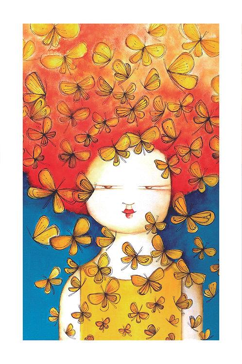 ILUSTRACION Mariposas amarillas
