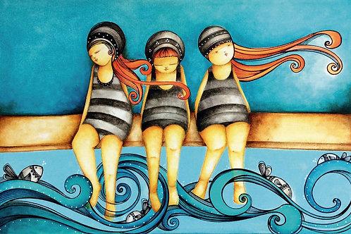 ILUSTRACION Las bañistas