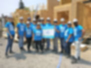 Habitat For Humanity Lamenza Corporation Team Photo
