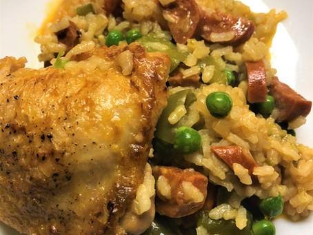 Quick Chicken & Chorizo Paella
