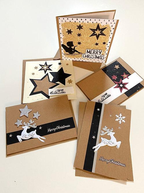 Weihnachtskartenset Weihnachtszauber