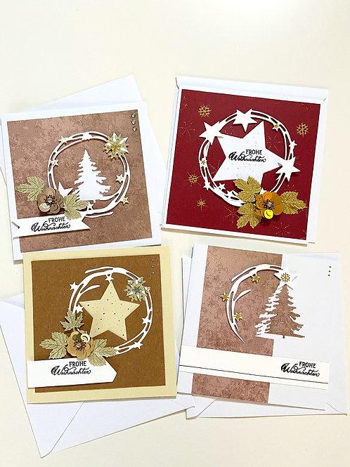 Weihnachtskartenset Deluxe
