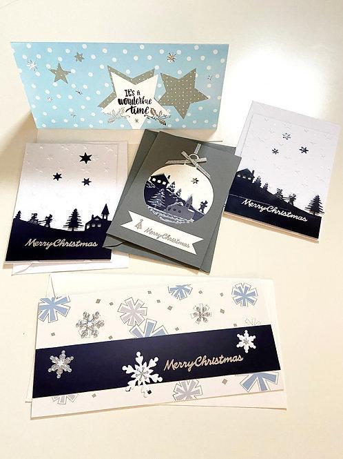 Weihnachtskartenset Winterwonderland