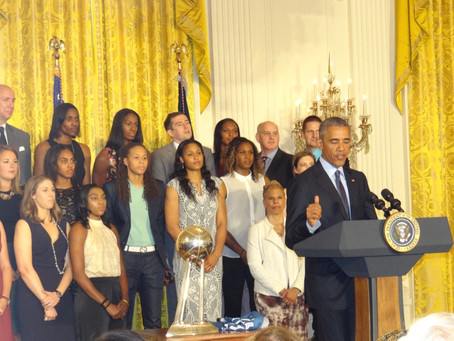 THE TIME THE LYNX WERE AT THE WHITE HOUSE…FOR THE THIRD TIME