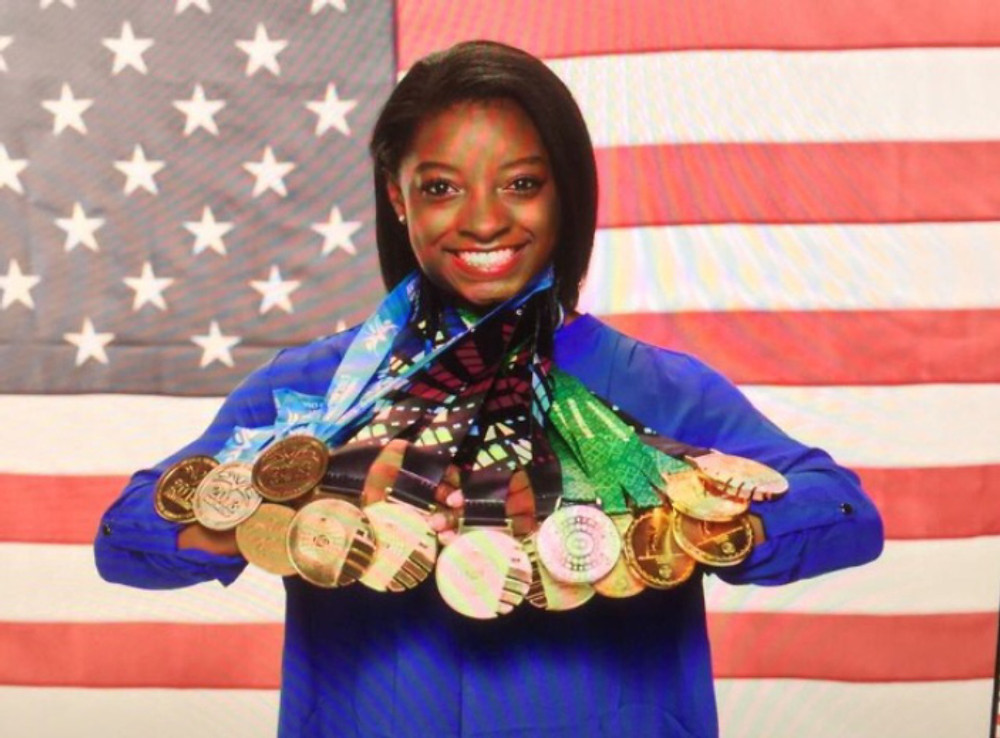 biles all medals