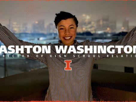 GladiatHers® Spotlight: Ashton Washington, University of Illinois — Director of High School Relation