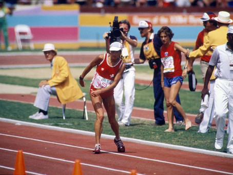 Olympic Flashback: Gabriela Andersen-Schiess & the First Women's Marathon