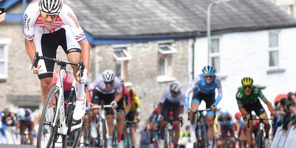 Tour of Britain rolls by!