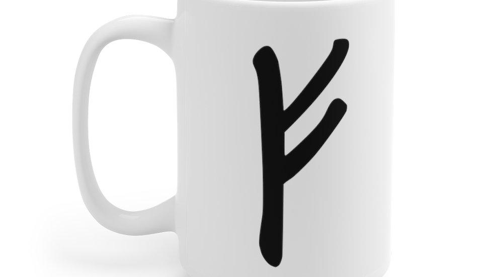 Rune Mug: Fehu