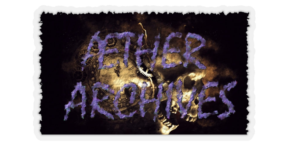 Aether Archives Sticker