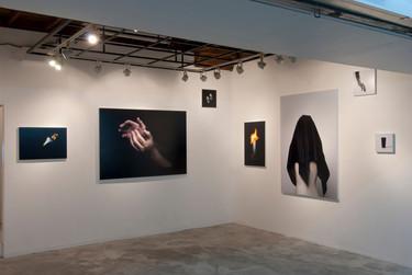 個展「hide /されど覆われず 美しく 」 Installation view