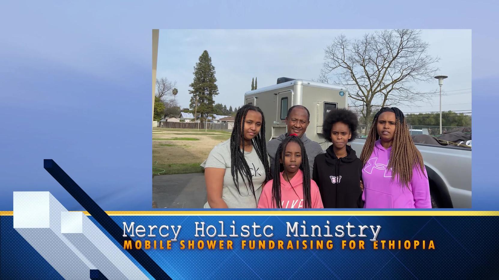 Mercy Holistic Ministry Ethiopian Shower Fundraising