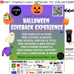 Halloween Giveback Experience