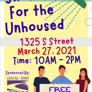 Showers for the Unhoused SEIU Local 1000 and MHM