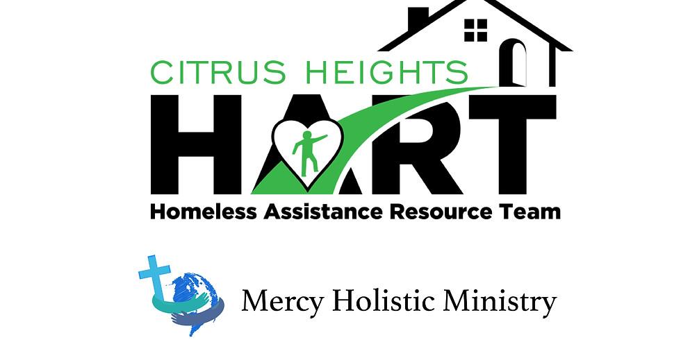 Mercy Holistic Showers - Citrus Heights HART Winter Warming Center 2021 Week 2