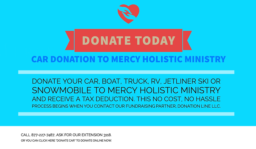 Donate Your Car Today