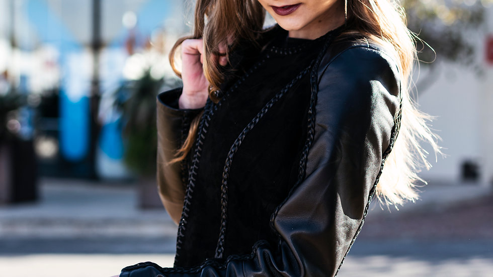 Leather Suede Jacket