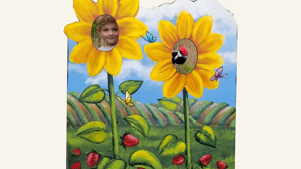 Sunflower 3 x 4 Cutout Sign
