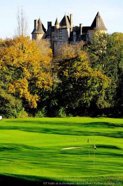 Chateau de Montal et le golf