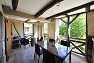 Un balcon sur la rivière Dordogne aux gîtes des Terrasses de Carennac